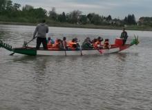 Az első évfolyamos kajak-kenu orientációs csapat